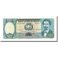Billet, Bolivie, 500 Pesos Bolivianos, 1981-06-01, KM:165a, NEUF - Bolivie