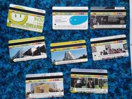 Lot 8 Tickets STAS Saint-Etienne  - Paysage Design Zenith - Bus Tramway - 42 Loire - Bus