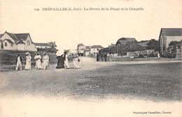 ¤¤  -    PREFAILLES   -   La Route De La Plage Et La Chapelle      -   ¤¤ - Préfailles
