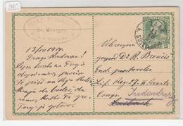 Austria Slovenia Postal Stationery Postcard Travelled 1914 Loka Pri Žusmu Laak B. Süssenheim B190310 - Slovenia