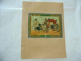 1900 PUBBLICITà TABASSO VOLTERRA COMMERCIO  COLONIE INDIA BOMBAY CARROSSE ROYAL - Publicité
