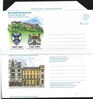 Gran Bretagna/Great Britain: Intero, Stationery, Entiers, Stemmi, Coats Of Arms, Armoiries - Buste