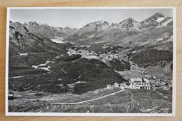 Muottas Muragl Blick Auf Oberegerdinger Seen - Schweiz