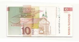 Slovénie 1992 Billet De 10 Tolarjev - Slovenia