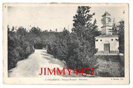 TARJETA  CPA - Parque Bosque - Palomar - FIGUERAS Gerona Cataluna - N° 3 - Edit. Joaquin SERRA Libreria - Recto-Verso - Gerona