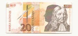 Slovénie 1992 Billet De 20 Tolarjev - Slovenia