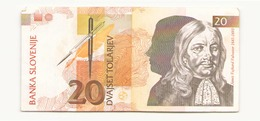 Slovénie 1992 Billet De 20 Tolarjev - Slovénie