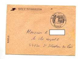 Lettre Franchise Cachet Nancy Philatelie Desilles - Marcophilie (Lettres)