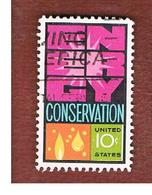 STATI UNITI (U.S.A.) - SG 1545  - 1974  ENERGY CONSERVATION   - USED - Stati Uniti