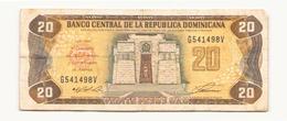 République Dominicaine Billet De 20 Pesos - Dominicaine