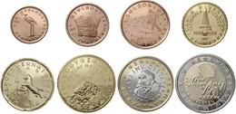 SLOVENIE -  EUROS - Année Complète 2007 (8 Piéces Non Circulées) - Slovénie