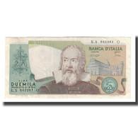 Billet, Italie, 2000 Lire, 1973 ; 1976 ; 1983, KM:103b, TTB+ - [ 2] 1946-… : Republiek
