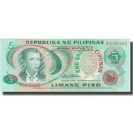 Billet, Philippines, 5 Piso, KM:160d, NEUF - Philippines