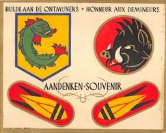 Hulde Aan De Ontmijners - Honneur Aux Démineurs - Aandenken-Souvenir - Documents