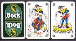 Belgie - Speelkaarten - ** 2 Jokers - Bock Premium Pils ** - Cartes à Jouer Classiques