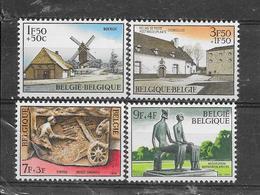 België 1970 Y&T Nr° 1532/35 (**) - Unused Stamps