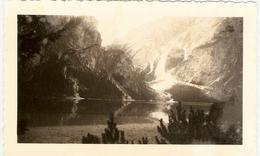 ITALIE --  ( Tyrol ) --  Lac De Braies ( Photo : Format 12 X 7.5 ) - Lieux
