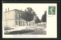CPA Montpezat-d`Agenais, Groupe Scolaire - Agen