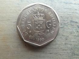 Antilles  Neerlandaises    5 Gulden  1999  Km 43 - Netherland Antilles