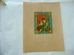 1900 PUBBLICITà TABASSO VOLTERRA COMMERCIO COLONIE INDIA BOMBAY BELLE EPOQUE DAMA LADY - Publicité