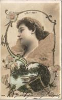 STRATZAERT Par Reutlinger  .......... Carte Recouverte De Micro Billes De Verre - Artistes