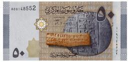 SYRIA 50 POUNDS 2009 Pick 112 Unc - Syria