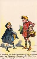 POULBOT  Quand J'serai Grand J'Pus De Lunettes  ....... ( Ref P04 ) - Enfants