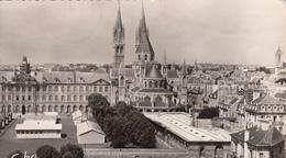 CAEN : Vue Sur Mairie 1956 - Caen