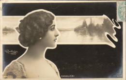 CAVALIERI     ......... Photo Reutlinger  ............décor Art Nouveau - Artistes