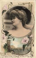 YRVEN         ......... Photo Reutlinger  ............décor Art Nouveau - Artistes