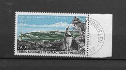 T.A.A.FRANCAISES- AERIEN- TRES TRES BEAU TIMBRE BELLE OBLITERATION N° 14 AVEC GOMME -PAS EMINES-COTE Y.T.2011 150€ - Non Classés