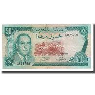 Billet, Maroc, 50 Dirhams, 1970, KM:58b, TTB+ - Maroc