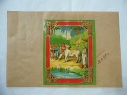 1900 PUBBLICITà TABASSO VOLTERRA COMMERCIO COLONIE INDIA BOMBAY MUCCA SANTONE - Publicité