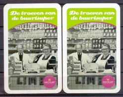 Belgie - Speelkaarten - ** 2 Jokers - Dag Van De Klant ** - Cartes à Jouer Classiques