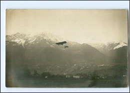 Y11805/ Fotograf Leo Bährendt  Meran  1912   Foto AK Flugzeug - Italia