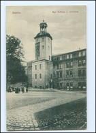 U4598/ Stettin Kgl. Schloß - Uhrturm Pommern AK 1939 - Pommern