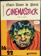 Dargaud 16 / 22  N° 63 - CINEMASTOCK - Notre-Dame De Paris - TOME 2 ( 2e Partie ) - Gotlib - Alexis . - Bücher, Zeitschriften, Comics