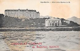 CAP-MARTIN - ( 06 ) - Hotel Prés De Menton - Roquebrune-Cap-Martin
