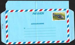 Francia/France: Intero, Stationery, Entier, Elicottero (piega), Hélicoptère (pli), Helicopter (fold) - Elicotteri
