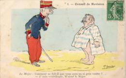 ILLUSTRATEUR ASSUS  Conseil De Révision - Humoristiques