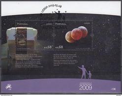 PORTUGAL 2009 HB-287 USADA (1º DIA) - Hojas Bloque