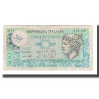 Billet, Italie, 500 Lire, 1974, 1974-02-14, KM:94, TB+ - [ 2] 1946-… : Républic