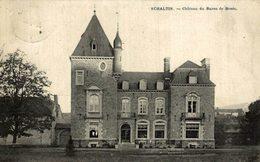 RARE SCHALTIN CHATEAU DU BARON DE ROSEE - Bélgica