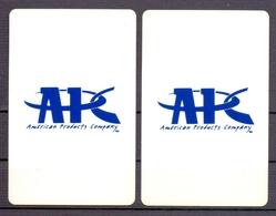 Belgie - Speelkaarten - ** 2 Jokers - APC - American Products Company ** - Cartes à Jouer Classiques