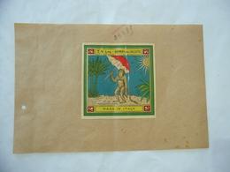 1900 PUBBLICITà TABASSO VOLTERRA COMMERCIO COLONIE INDIA BOMBAY CALCUTTA - Advertising