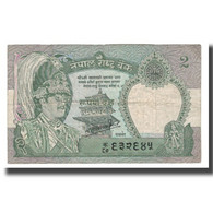 Billet, Népal, 2 Rupees, KM:29a, TB+ - Nepal
