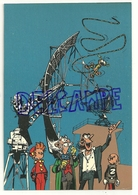 Trésors Du Journal De Spirou. Carte Postale N° 57. Spirou Et Fantasio Marsupilami Antenne Z - Bandes Dessinées