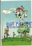 Trésors Du Journal De Spirou. Carte Postale N° 11. Spirou Et Fantasio à Cheval - Bandes Dessinées