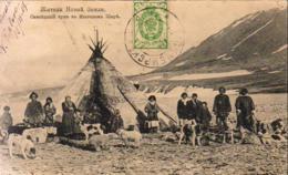 RUSSIE  SAMOYÈDES Autour De Leur Tente - Russie