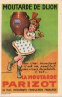 CPA ILLUSTRATEUR POULBOT Pour La Moutarde Parisot DIJON PETITE FILLE - Poulbot, F.